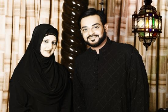 Dr Aamir and Bushra Aamir