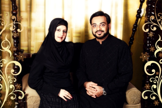 Dr Aamir and Bushra Aamir